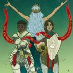 Tarot illustration: 3 The Empress